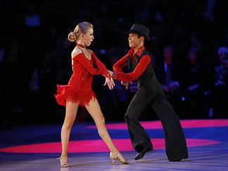 latin ball room dancing